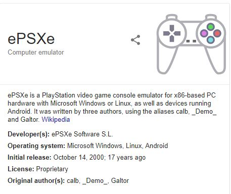 What Is ePSXe