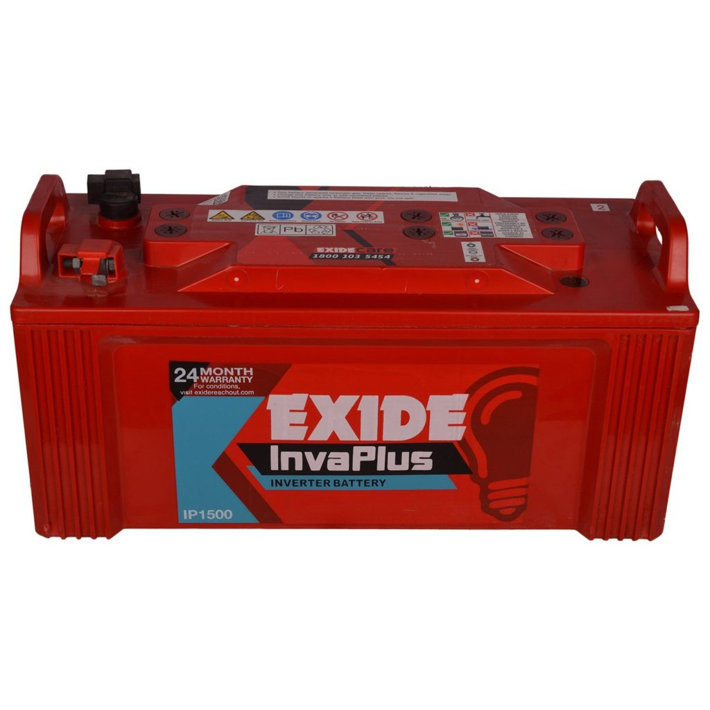 Exide Inva Plus Battery 150Ah/12V (Red)